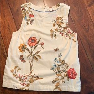 Cotton lined blouse with pockets